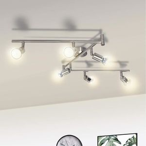 Plafonnier Salon Chambre Spot Couloir Cuisine rails projecteur 5-brûleur
