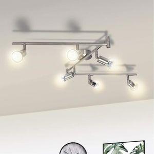 PLAFONNIER WOWATT Plafonnier LED rotatif - 6 Lumières - Avec
