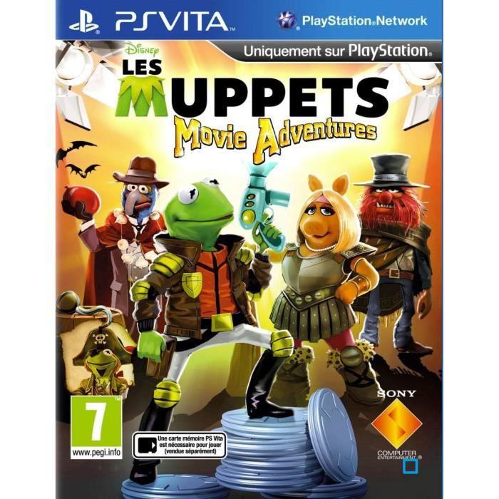 Muppets Movie Adventures Jeu PS Vita