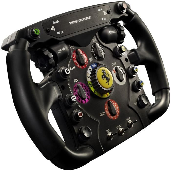 thrustmaster volant ferrari f1 add on achat vente volant jeux vid o thrustmaster ferrari f1. Black Bedroom Furniture Sets. Home Design Ideas