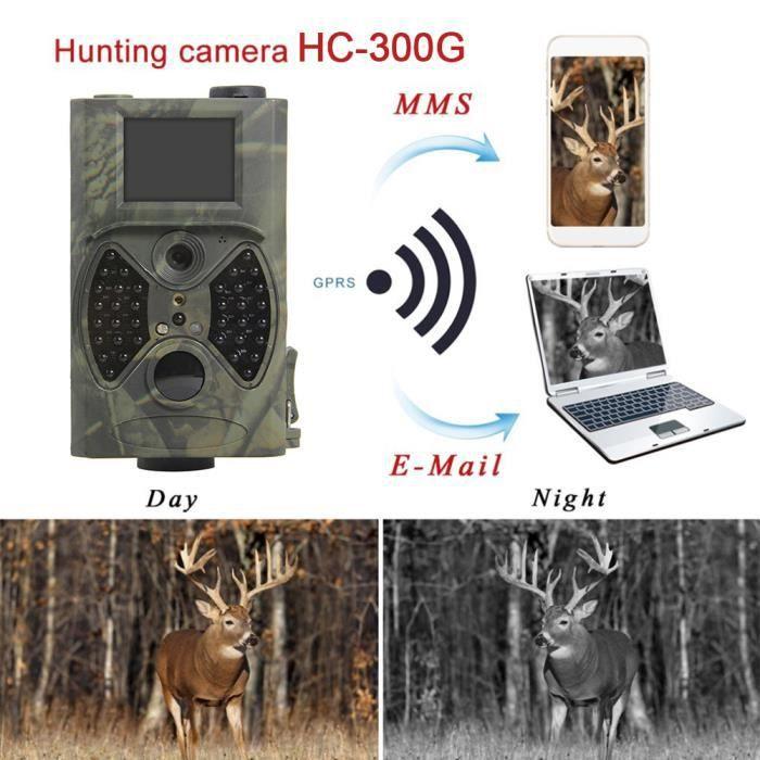 HC-300A extérieure 2 -TFT IR caméra de chasse Cam Digital Trail 5MP couleur CMOS IP54