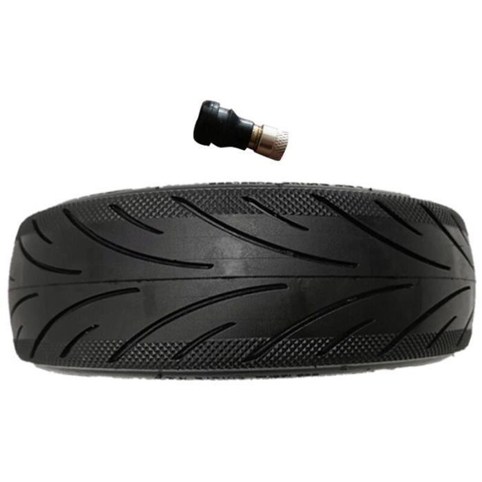 Aucun pneu anti-explosion de gonflage Compatible pour Ninebot Max G30 60-70-6.5 pneu à vide noir avec Valve [00E0FC5]