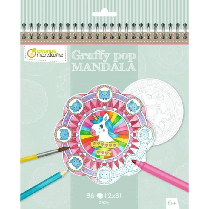 Jouets éducatifs - Cahier de Mandala - Magie