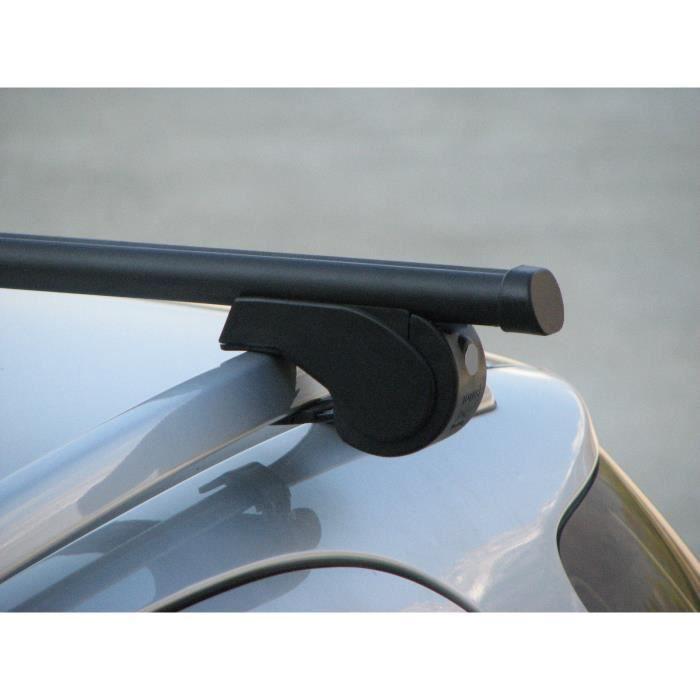 Barres de toit prêt à poser BMW X1 5 portes (2010- ) Fix sur railing origine