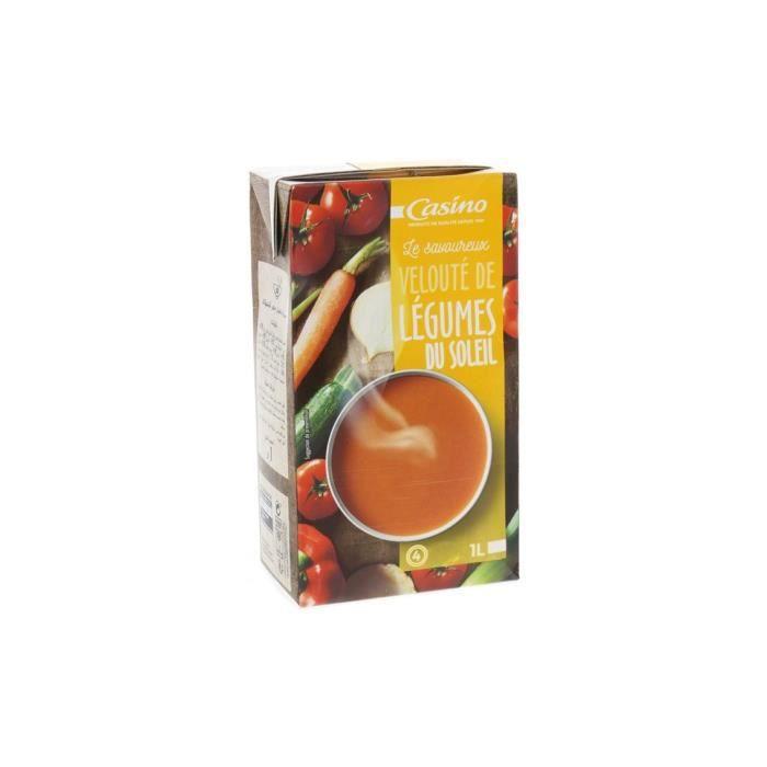 CASINO Velouté aux Légumes du soleil - 1 L