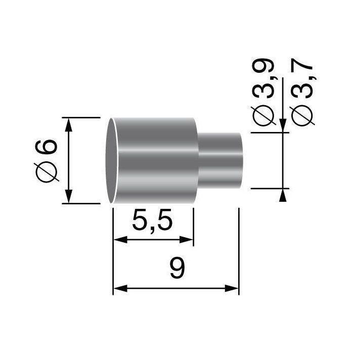 Butée de gaine, pour gaine de Ø: 5,0mm
