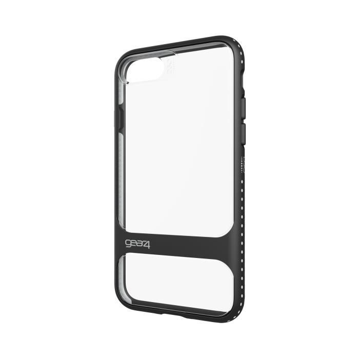 GEAR4 D3O Soho Coque - iPhone 7 - Noir