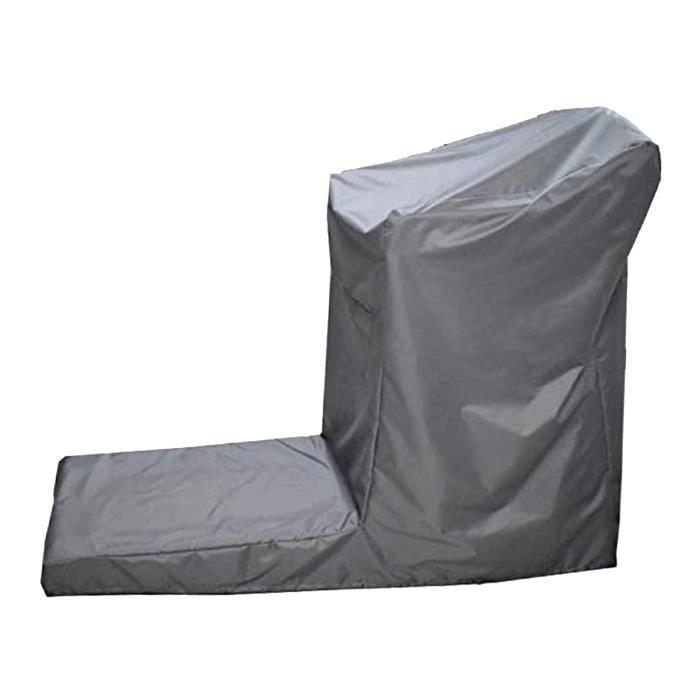 Non-Tapis Roulant Pliant Couverture avec Cordon, imperméable à la poussière Couverture Universelle Fit Sport Argent_168x76x140cm