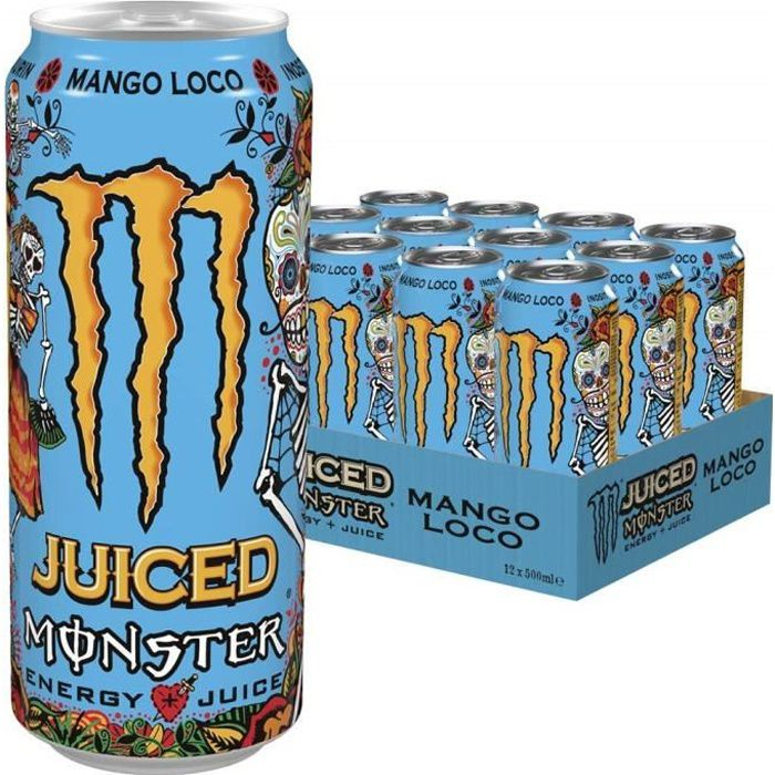 Monster Energy Juiced Mango Loco