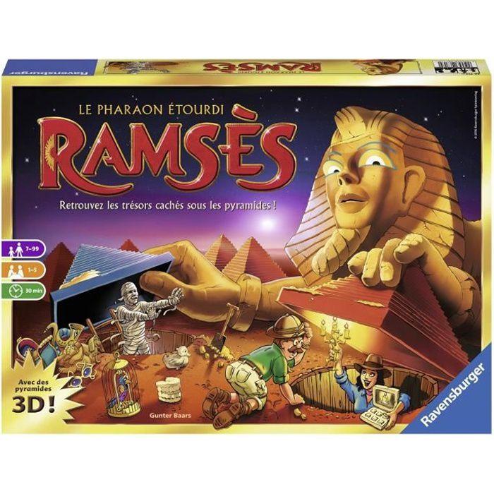 RAMSÈS Jeu de société et de mémoire Ravensburger - 1 à 4 joueurs - 7 ans et +