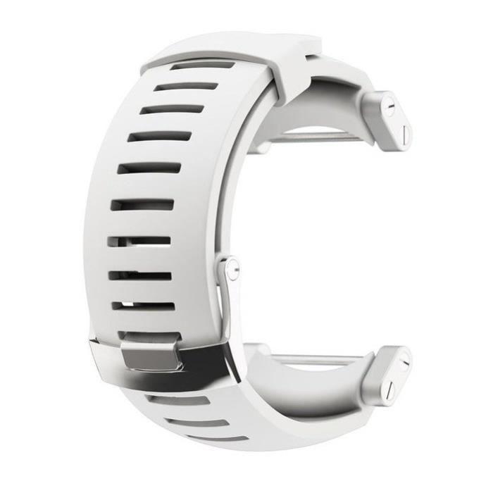 SUUNTO Bracelet de Montre Core Blanc Silicone
