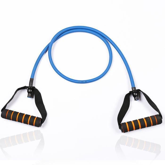 TD® yoga tirer la corde Corde de traction de remise en forme intérieure Corde de traction de yoga élastique (50 * 10 * 1200mm bleu