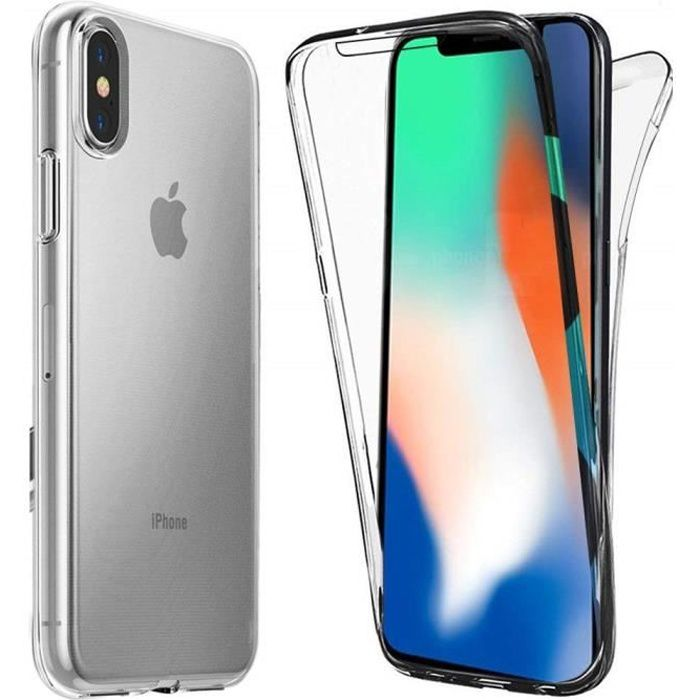 Coque Apple iPhone XR Protection intégrale 360 deg