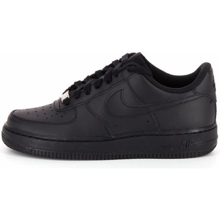 basket nike air force 1 low juni noir noir achat. Black Bedroom Furniture Sets. Home Design Ideas