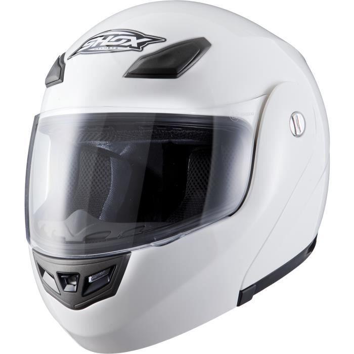 Shox Bullet Casque de Moto//Scooter Modulable