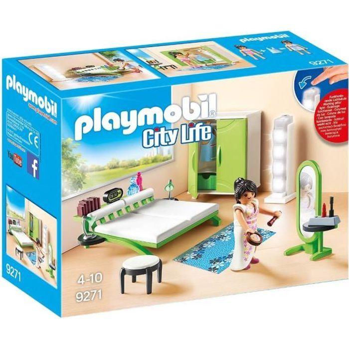 Playmobil 9271 La Maison Moderne Chambre Avec Espace Maquillage