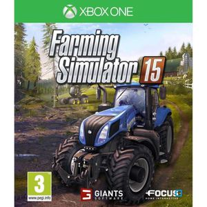 JEUX XBOX ONE Farming Simulator 2015 Jeu XBOX One