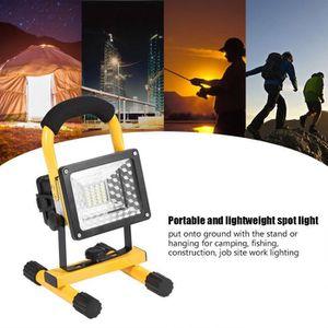 LAMPE DE CHANTIER Projecteur à LED 30W 24LED Emergency Camping Pêche