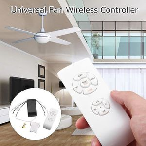 VENTILATEUR DE PLAFOND Universal Ventilateur De Plafond Lampe Vitesse Tél