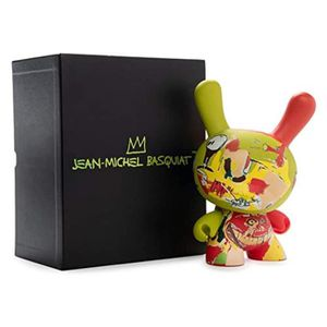 FIGURINE - PERSONNAGE Figurine Miniature KP124 x Jean-Michel Basquiat Ch