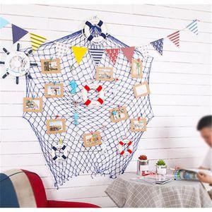 Décors de table Lot de 15 Style Filet de Pêche Décoratif Murale à