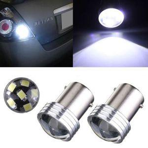ALLUMAGE AUTO DES FEUX 2x Blanc 1156 BA15S 6 SMD 2835 LED Clignotant Feu