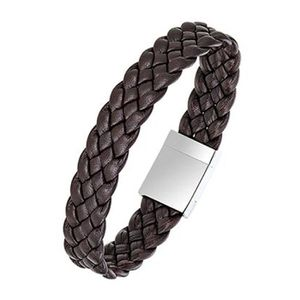 BRACELET - GOURMETTE All Blacks - Bracelet homme - 682127 - Cuir marron