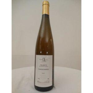 VIN BLANC gewurztraminer koehly blanc 2001 - alsace france