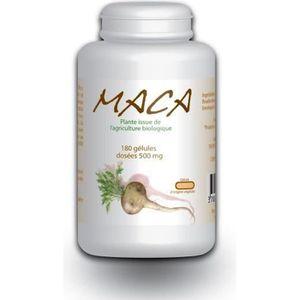 TONUS - VITALITÉ Pilulier de 180 gélules végétale de maca biologiqu