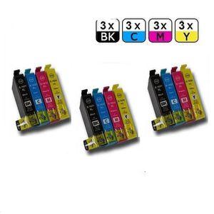 CARTOUCHE IMPRIMANTE 3+9 Cartouche générique compatible Epson 16 XL Wor