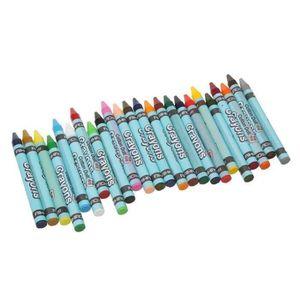 CRAYON DE COULEUR Pastels a l'Huile Set 24pcs Gras Crayon Baton Pein