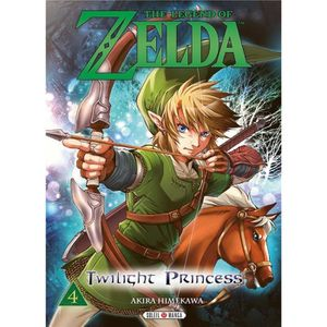BANDE DESSINÉE Livre - the legend of Zelda - twilight princess T.