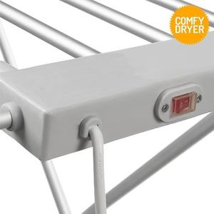 FIL À LINGE - ÉTENDOIR Étendoir à Linge Électrique Comfy Dryer (6 Barres)