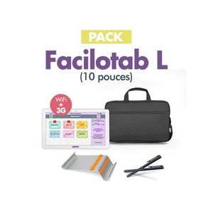 TABLETTE TACTILE Pack Tablette Senior FACILOTAB L - 10.1