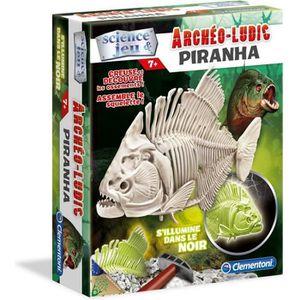 EXPÉRIENCE SCIENTIFIQUE CLEMENTONI Archéo Ludic - Piranha Phosphorescent -