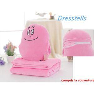 COUSSIN Dresstells 2 en 1 Cute Cartoon Velvet peluche orei
