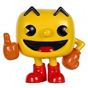 FIGURINE - PERSONNAGE Figurine Miniature FUNKO Jeux d'action: Pop Pac-ma
