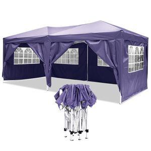 TONNELLE - BARNUM Tente de réception 3x6m à utiliser comme pavillon,