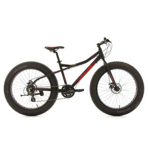 VTT KS CYCLING Fatbike semi rigide SNW2458 - 26'' - TC