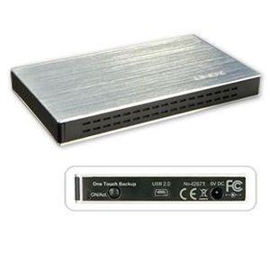 BOITIER POUR COMPOSANT LINDY Boîtier USB 2.0 pour disque dur SATA 2 -5