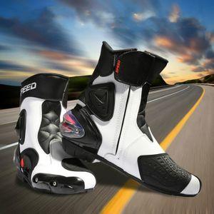 CHAUSSURE - BOTTE Cheville Mixte Équipement De Protection Moto Botte
