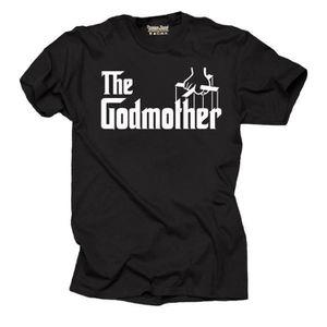 tee shirt 100/% coton. Marraine super héro t-shirt femme humour famille cadeau