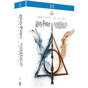 BLU-RAY FILM Coffret Intégrale Wizarding World 10 Films  Harry