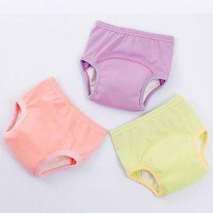 Cutogain Pantalon /à Couches pour Enfants de Bande dessin/ée Confortable Pantalon de Couche-Culotte /à Taille Haute /étanche /à leau
