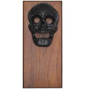 d/écapsuleur en bois vintage pour maison bar r/éfrig/érateur plaque en bois avec aimants puissants cuisine chocolat D/écapsuleur mural magn/étique pour bouchon de bi/ère