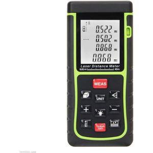 TÉLÉMÈTRE - LASER Télémètre laser 0.05 à 40m LCD Mètre laser numériq