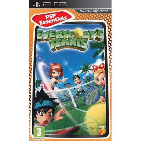 JEU PSP EVERYBODY'S TENNIS ESSENTIAL / Jeu console PSP