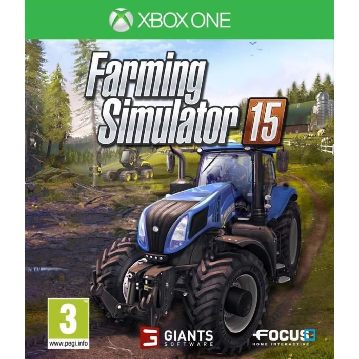 farming simulator 2015 jeu xbox one avis test cdiscount. Black Bedroom Furniture Sets. Home Design Ideas