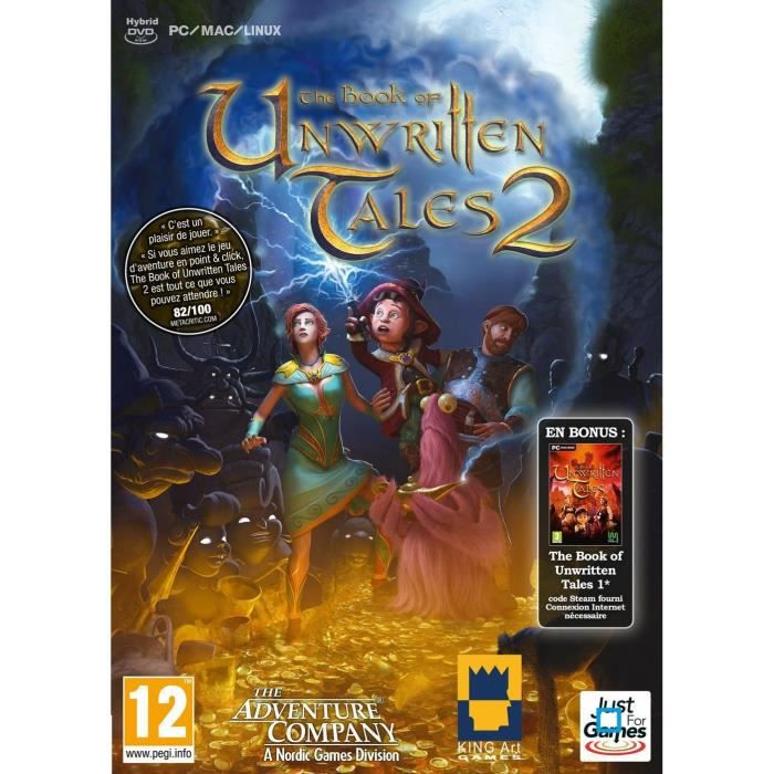 The Book of Unwritten Tales 2 (Book 1 en bonus) Jeu PC