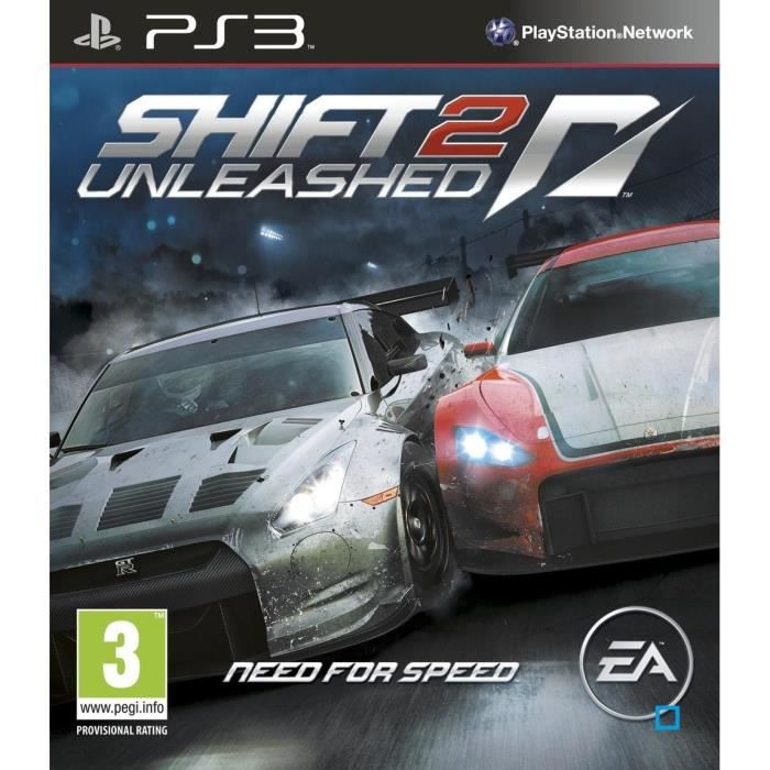 need for speed shif 2 unleashed jeu ps3 achat vente jeu ps3 nfs shif 2 unleashed ps3 cdiscount. Black Bedroom Furniture Sets. Home Design Ideas